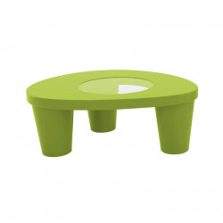 Table basse Low Lita, Slide Design vert