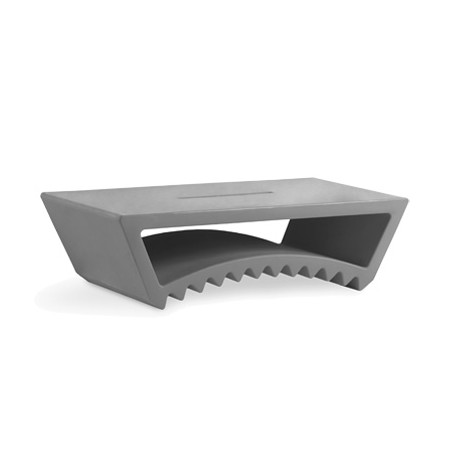 Table basse design Tac, Slide Design gris