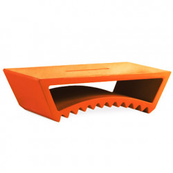 Table basse design Tac, Slide Design orange