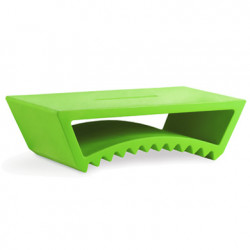 Table basse design Tac, Slide Design vert