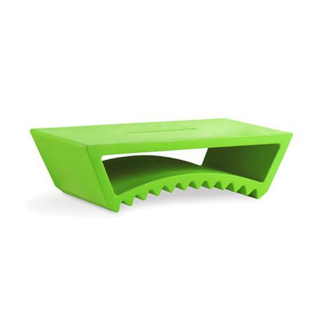Table basse design Tac, Slide Design vert