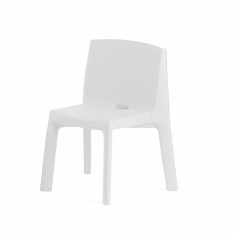 Chaise Q4, Slide design blanc