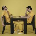 Table Gino, Slide Design noir