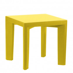 Table Gino, Slide Design jaune