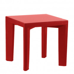 Table Gino, Slide Design rouge