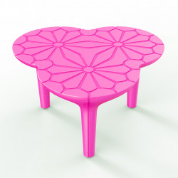Table basse Altesse, Qui est Paul ? fuchsia