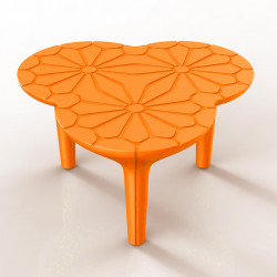 Table basse Altesse, Qui est Paul ? orange