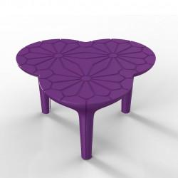 Table basse Altesse, Qui est Paul ? violet