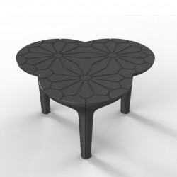 Table basse Altesse, Qui est Paul ? gris anthracite