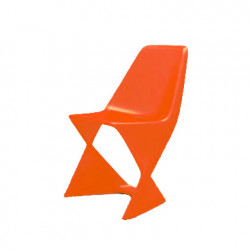 Chaise Iso, Qui est Paul ? orange