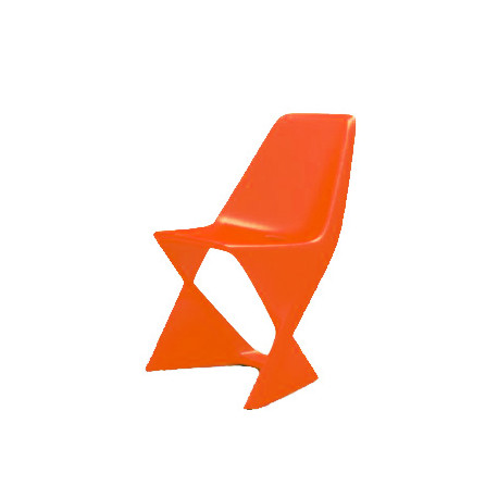 Chaise Iso, Qui est Paul ? orange