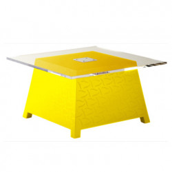 Table basse Raffy, Qui est Paul ? jaune