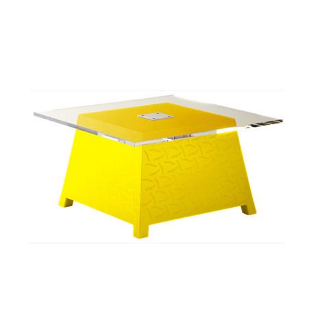 Table basse Raffy, Qui est Paul ? jaune