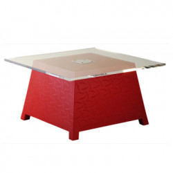 Table basse Raffy, Qui est Paul ? rouge
