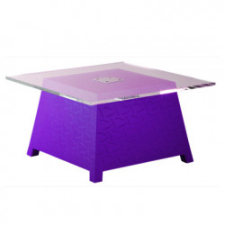 Table basse Raffy, Qui est Paul ? violet