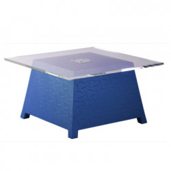 Table basse Raffy, Qui est Paul ? bleu