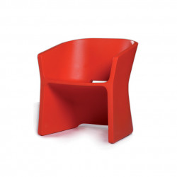 Fauteuil Sliced chair, Qui est Paul ? rouge