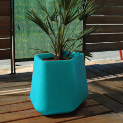 Pot Rock Garden Medium, Qui est Paul ? turquoise