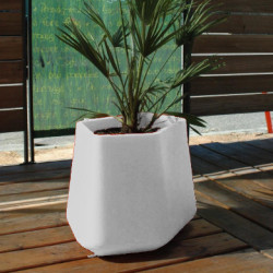 Pot Rock Garden Medium, Qui est Paul ? blanc