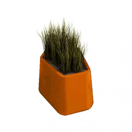 Pot Rock Garden Small, Qui est Paul ? orange
