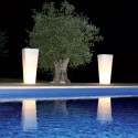 Pot All So Quiet lumineux OUTDOOR, Qui est Paul ? blanc