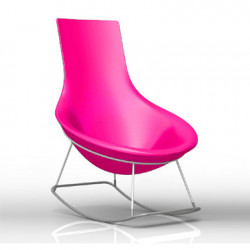 Rocking Chair Tom Yam, Qui est Paul? fuchsia
