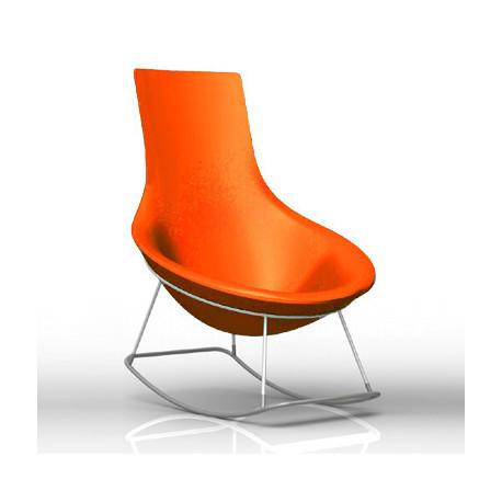 Rocking Chair Tom Yam, Qui est Paul? orange