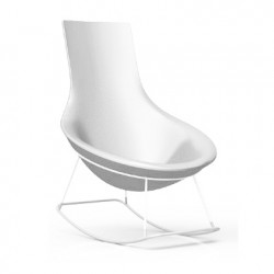 Rocking Chair Tom Yam, Qui est Paul? blanc