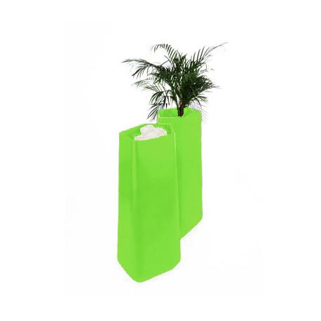 Pot Rock Garden Tall, Qui est Paul? vert