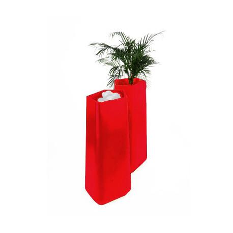 Pot Rock Garden Tall, Qui est Paul? rouge