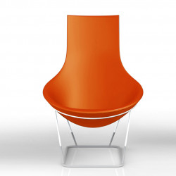 Fauteuil Tom Yam, Qui est Paul? orange
