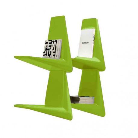 Link, étagère/bibliothèque design, Qui est Paul? vert