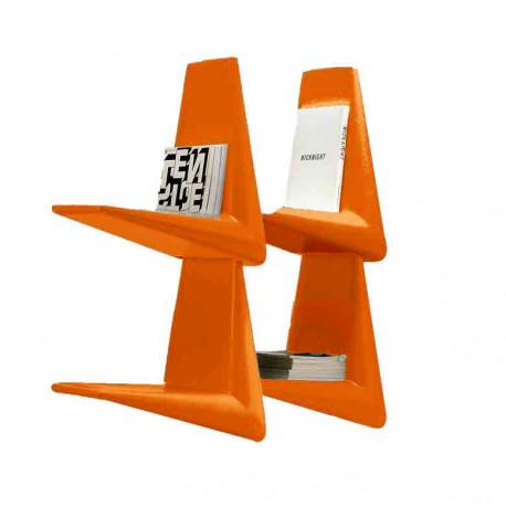 Link, étagère/bibliothèque design, Qui est Paul? orange