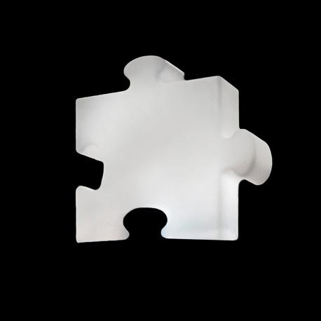 Lampe P.O.P, Slide Design blanc