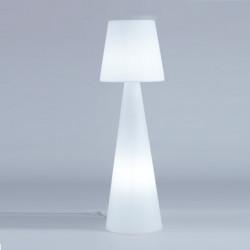 Lampadaire Pivot Intérieur hauteu 2 m, Slide Design blanc