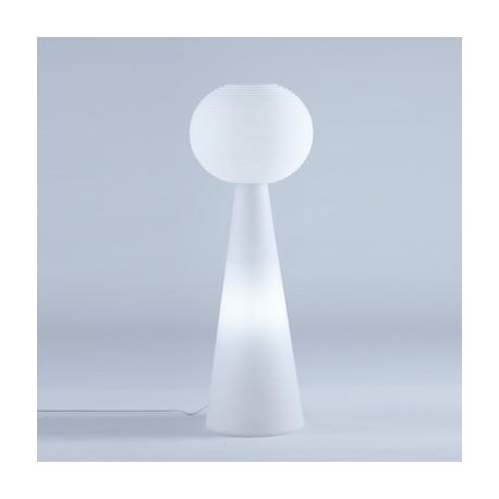 Lampadaire Pivot Molly, Slide Design blanc
