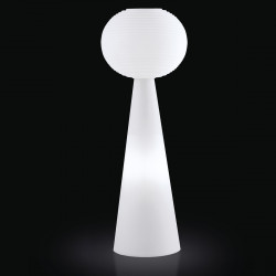 Lampadaire Pivot Molly Outdoor, Slide Design blanc