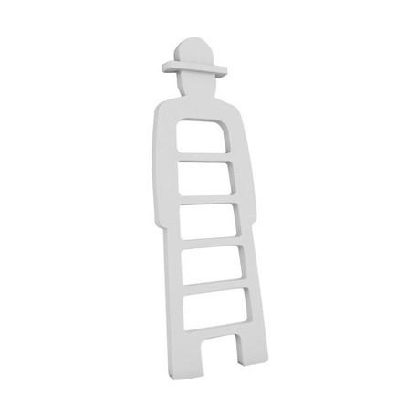 Mr Giò, meuble multifonction, slide design blanc