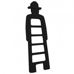 Mr Giò, meuble multifonction, slide design noir