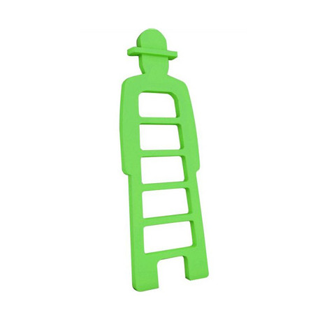 Mr Giò, meuble multifonction, slide design vert
