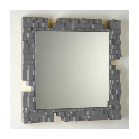 Miroir mural Pixel, Slide Design gris