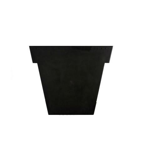 Pot Il Vaso Mat, Slide design noir Petit modèle
