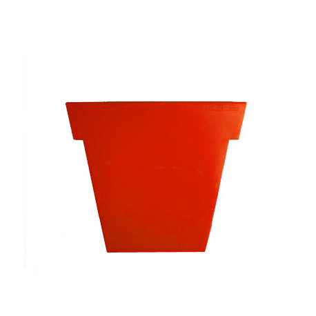 Pot Il Vaso Mat, Slide design orange Petit modèle