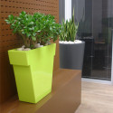 Pot Il Vaso Mat, Slide design blanc Grand modèle