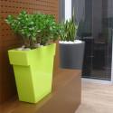 Pot Il Vaso Mat, Slide design noir Grand modèle