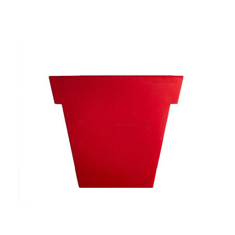 Pot Il Vaso Mat, Slide design rouge Grand modèle