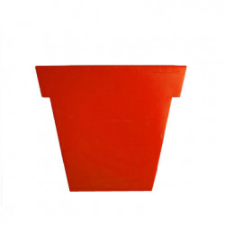 Pot Il Vaso Mat, Slide design orange Grand modèle