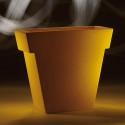 Pot Il Vaso Mat, Slide design orange Grand modèle