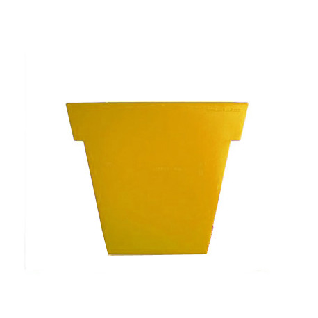 Pot Il Vaso Mat, Slide design jaune Grand modèle