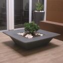 Pot Bench, Slide Design noir Grand modèle